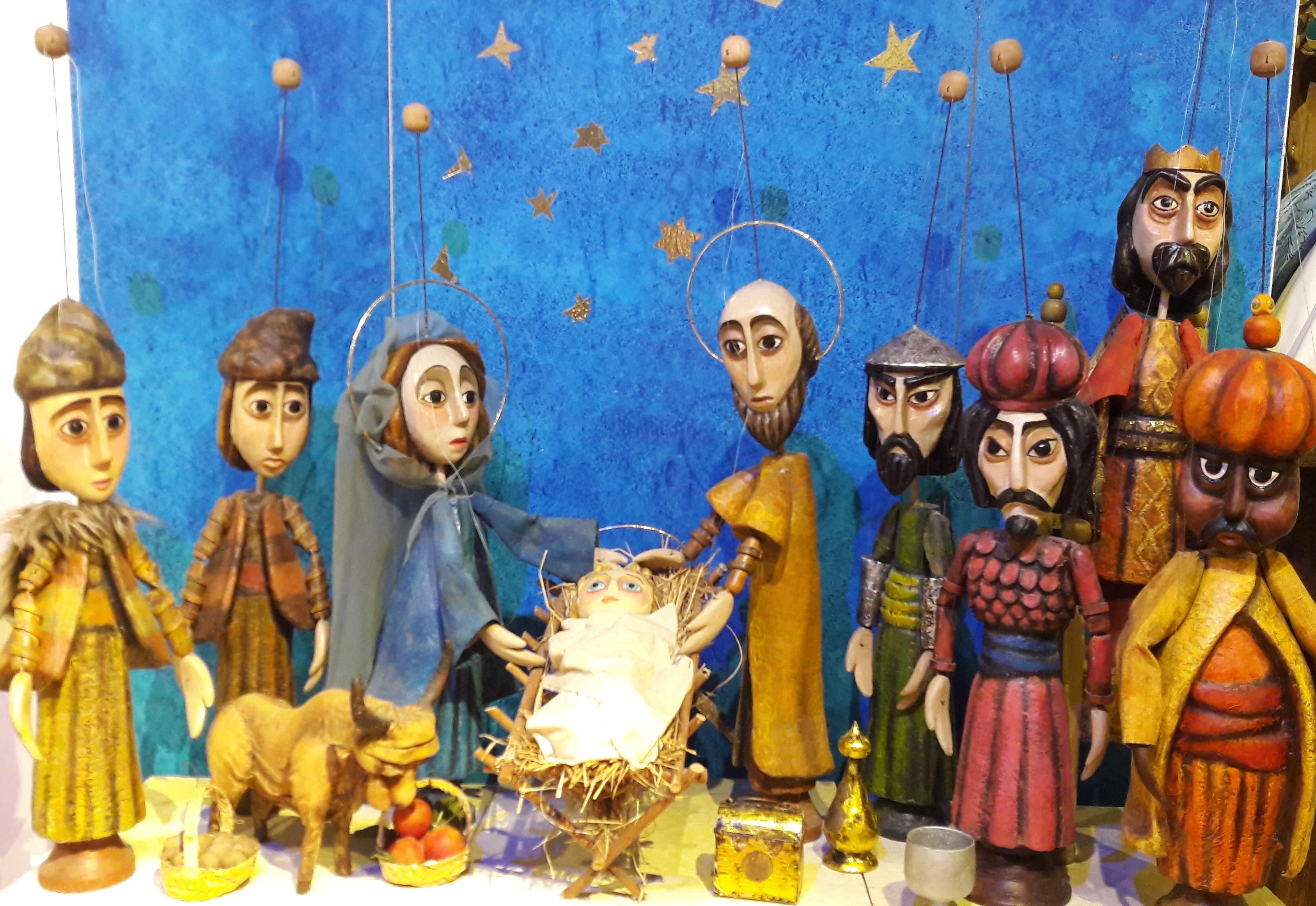 Christmas story on Bible plot