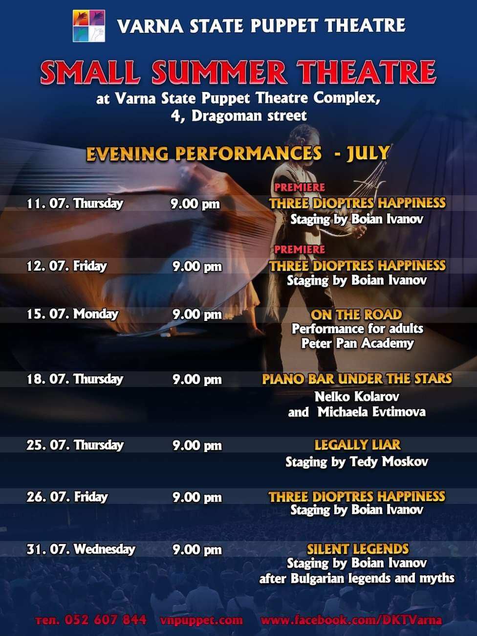 programme adults july 2019